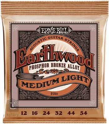 ERNIE BALL Earthwood Phosphor Bronze Medium-Light Kovové struny pro akustickou kytaru