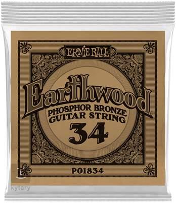 ERNIE BALL Earthwood Phosphor Bronze Single .034 Kovová struna pro akustickou kytaru