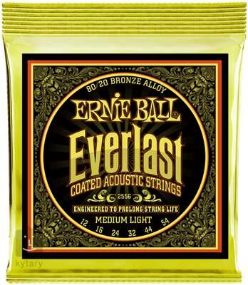 ERNIE BALL Everlast 80/20 Bronze Medium Light Kovové struny pro akustickou kytaru