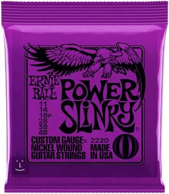 ERNIE BALL Nickel Wound Power Slinky Struny pro elektrickou kytaru