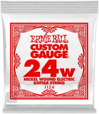 ERNIE BALL Nickel Wound Single .024 Struna pro elektrickou kytaru