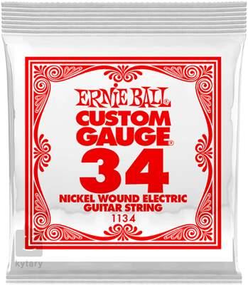 ERNIE BALL Nickel Wound Single .034 Struna pro elektrickou kytaru