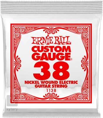 ERNIE BALL Nickel Wound Single .038 Struna pro elektrickou kytaru