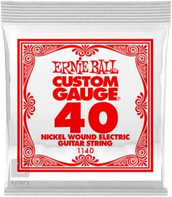 ERNIE BALL Nickel Wound Single .040 Struna pro elektrickou kytaru