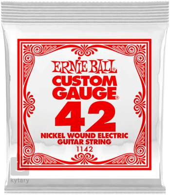 ERNIE BALL Nickel Wound Single .042 Struna pro elektrickou kytaru