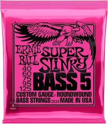 ERNIE BALL 2824 Struny pro pětistrunnou baskytaru