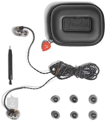 FENDER DXA1 PRO IEM - TRANS CHARCOAL  In-Ear sluchátka