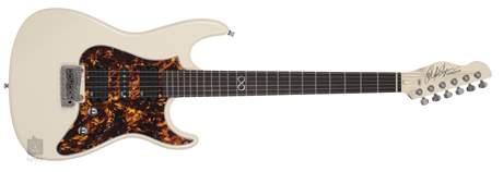 CHAPMAN GUITARS ML1 CAP10 White Lee Anderton Elektrická kytara