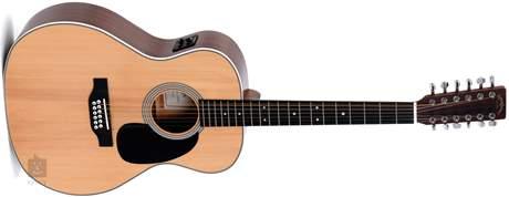 SIGMA GUITARS JM12-1STE Dvanáctistrunná elektroakustická kytara