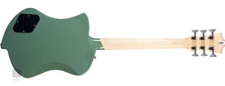 D'ANGELICO Premier Ludlow Army Green Elektrická kytara