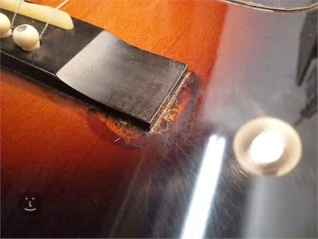 GRETSCH G9531 Style 3 Double-0 Grand Concert (poškozené) Akustická kytara