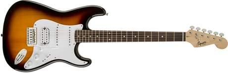 FENDER SQUIER Bullet Stratocaster HSS IL BSB Elektrická kytara