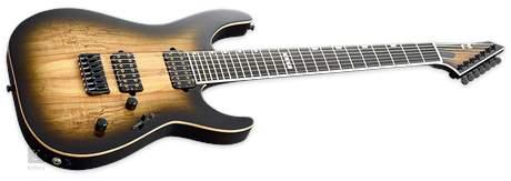 ESP E-II M-II-7 NT SM HS STDB Elektrická sedmistrunná kytara