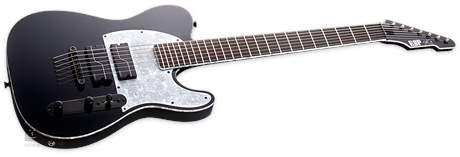ESP STEF-T7B BLK Fluence Elektrická sedmistrunná kytara