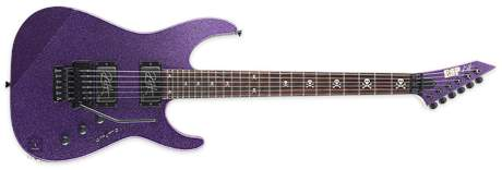 ESP KH-2 Purple Sparkle Elektrická kytara