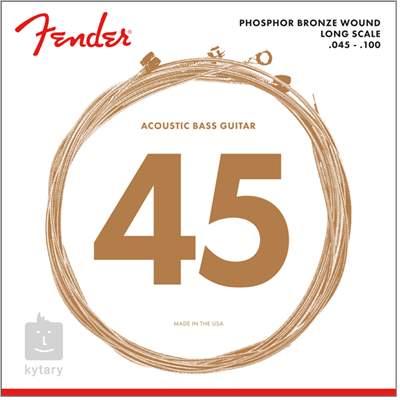 FENDER 8060 Struny pro akustickou baskytaru