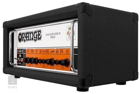 ORANGE Rockerverb 50H-MkIII Black Kytarový lampový zesilovač