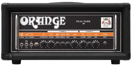 ORANGE Dual Dark 50 Kytarový lampový zesilovač