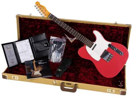 FENDER 2017 LTD NAMM G&A 59 Telecaster JRN AFR Elektrická kytara