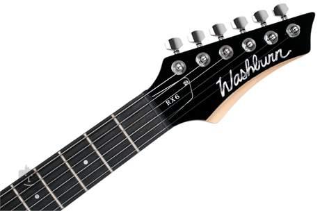 WASHBURN RX6B-A-U Dětská elektrická kytara