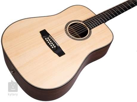 DOWINA Rustica DE-12-S 2017 Dvanáctistrunná elektroakustická kytara