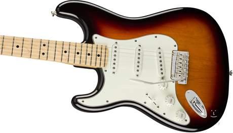 FENDER Player Stratocaster LH MN 3TS Levoruká elektrická kytara
