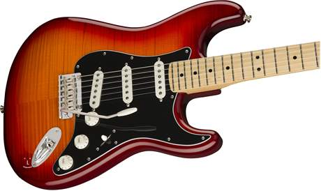 FENDER Player Stratocaster Plus Top MN ACB Elektrická kytara