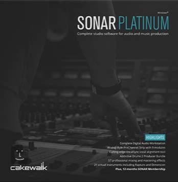 CAKEWALK SONAR PLATINUM download