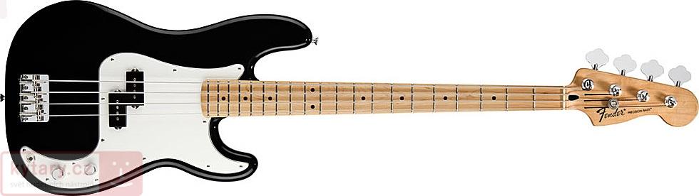 Fender Standard Precision Bass MN BK