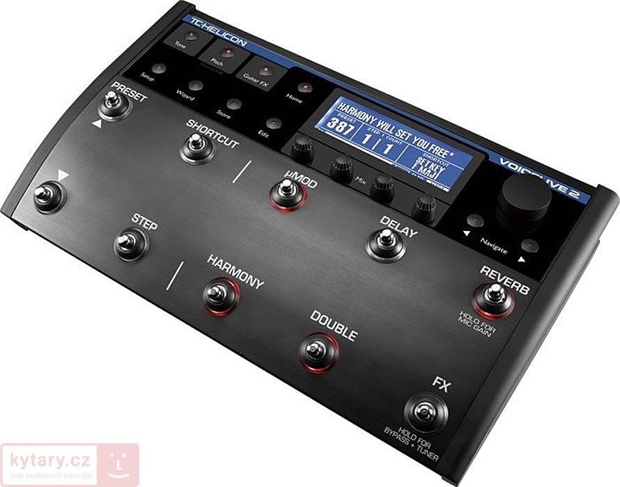 tc-helicon VoiceLive 2 with VLOOP (použité)
