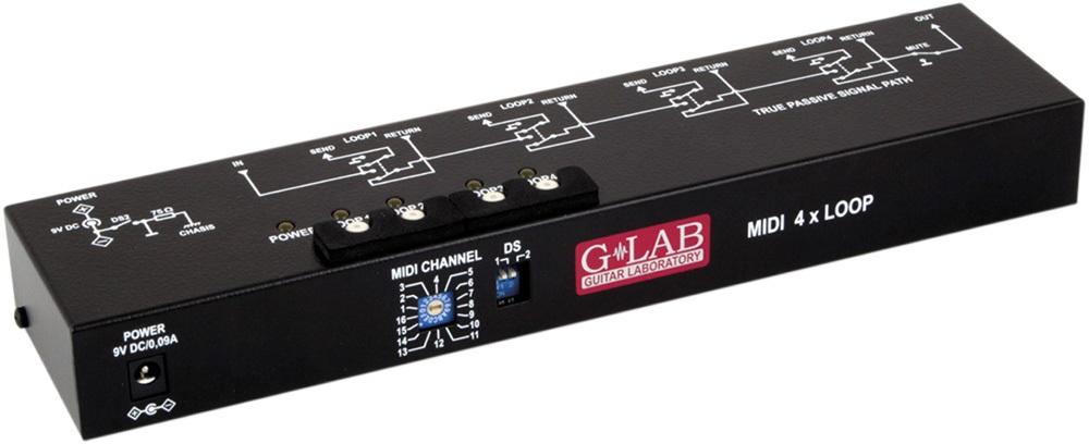 G-Lab MIDI 4x Loop M4L