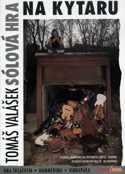 Muzikus Sólová hra na kytaru - kniha s CD - Tomáš Valášek