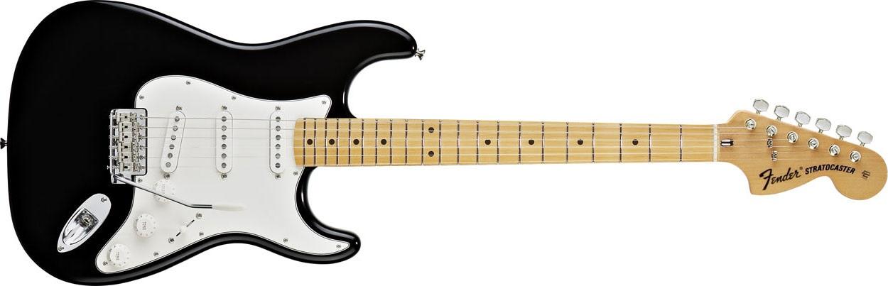 Fender Classic Series 70s Stratocaster MN BK