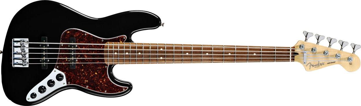 Fender Deluxe Active Jazz Bass V RW BK