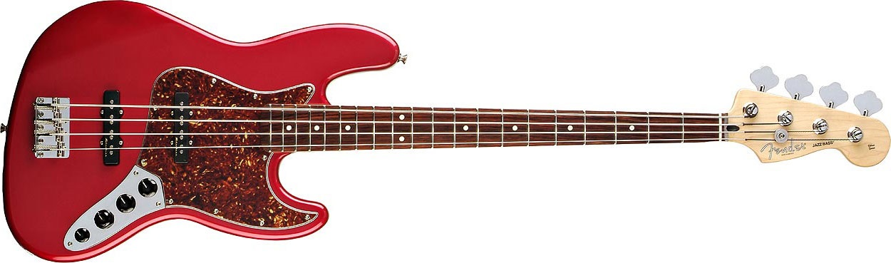 Fender Deluxe Active Jazz Bass RW CAR