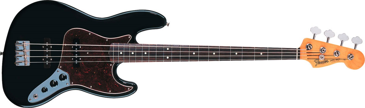 Fender 60s Jazz Bass RW BK
