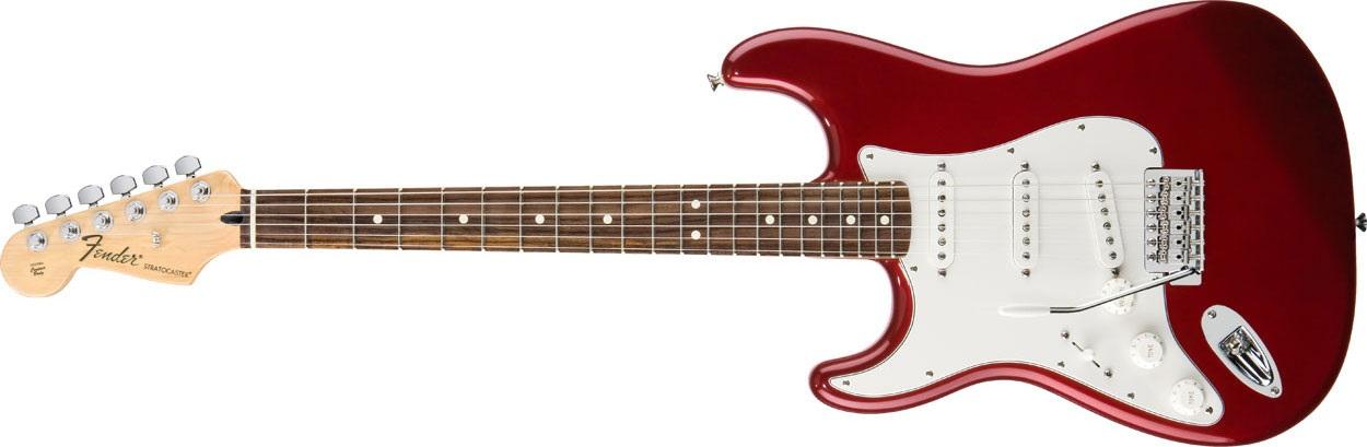 Fender Standard Stratocaster LH RW CAR