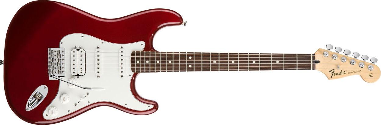 Fender Standard Stratocaster HSS RW CAR