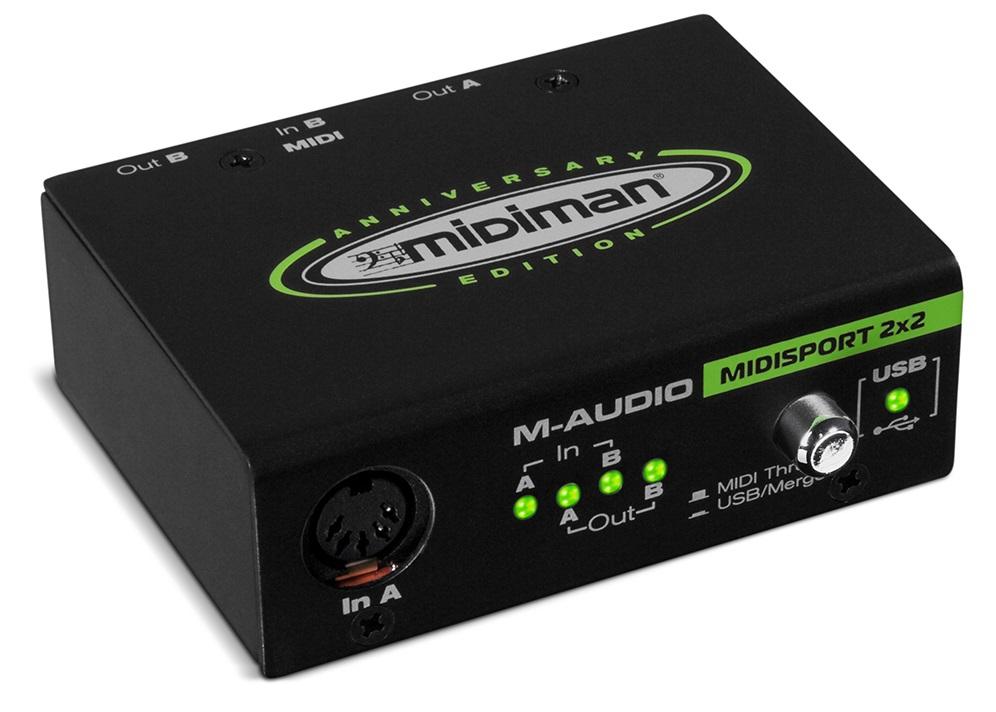 Fotografie M-Audio MIDISPORT 2x2