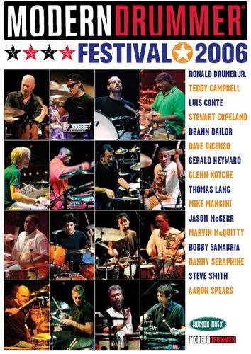 MS Modern Drummer Festival 2006 (4 DVD)