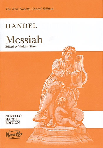 Fotografie MS G.F. Handel: Messiah (Watkins Shaw) - Paperback Edition Vocal Score