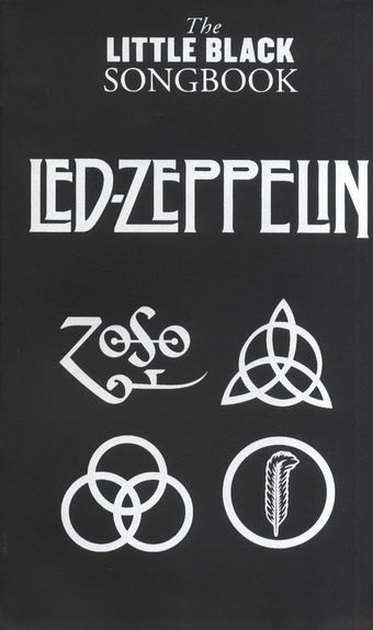 MS The Little Black Songbook: Led Zeppelin