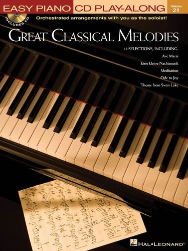 Fotografie MS Great Classical Melodies - Easy Piano