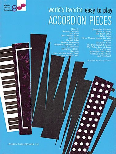 Fotografie MS Easy To Play Accordion Pieces 8 Worlds Favorite