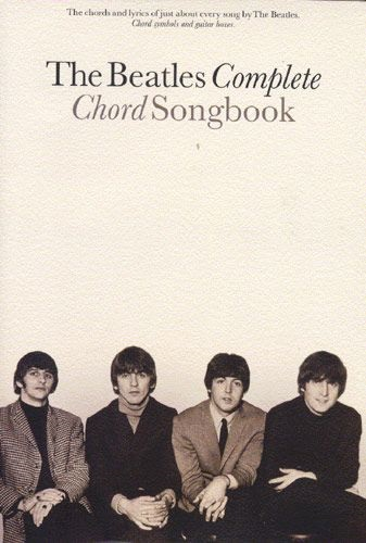 MS The Beatles Complete Chord Songbook
