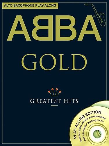 MS Abba: Gold - Alto Saxophone Play-Along