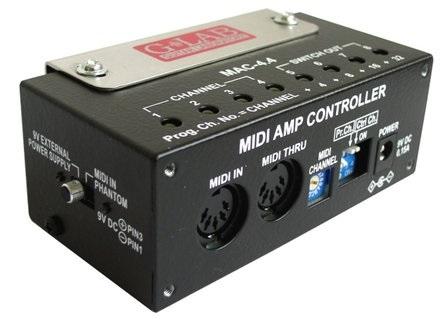 G-Lab Midi Amp Controller MAC-4.4 Mesa Boogie