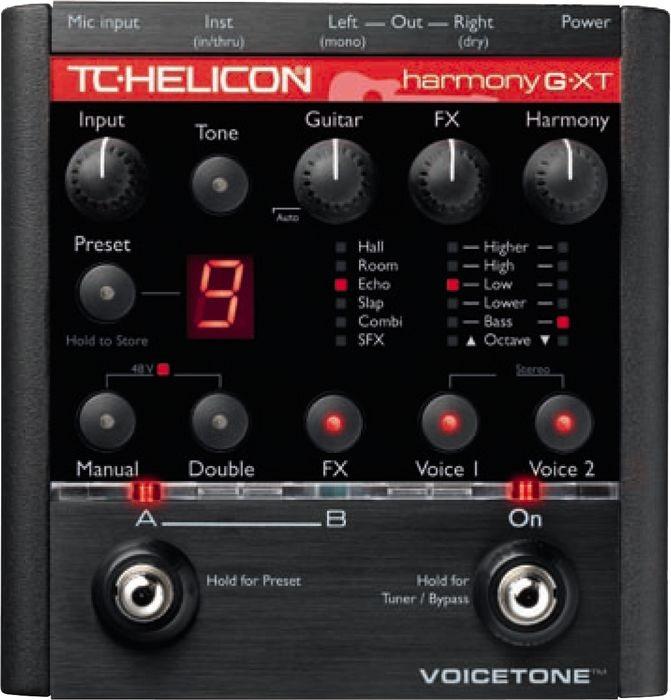 tc-helicon Voicetone Harmony-G XT (použité)