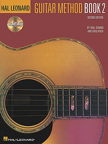 MS Hal Leonard Guitar Method Book 2 Second Edition