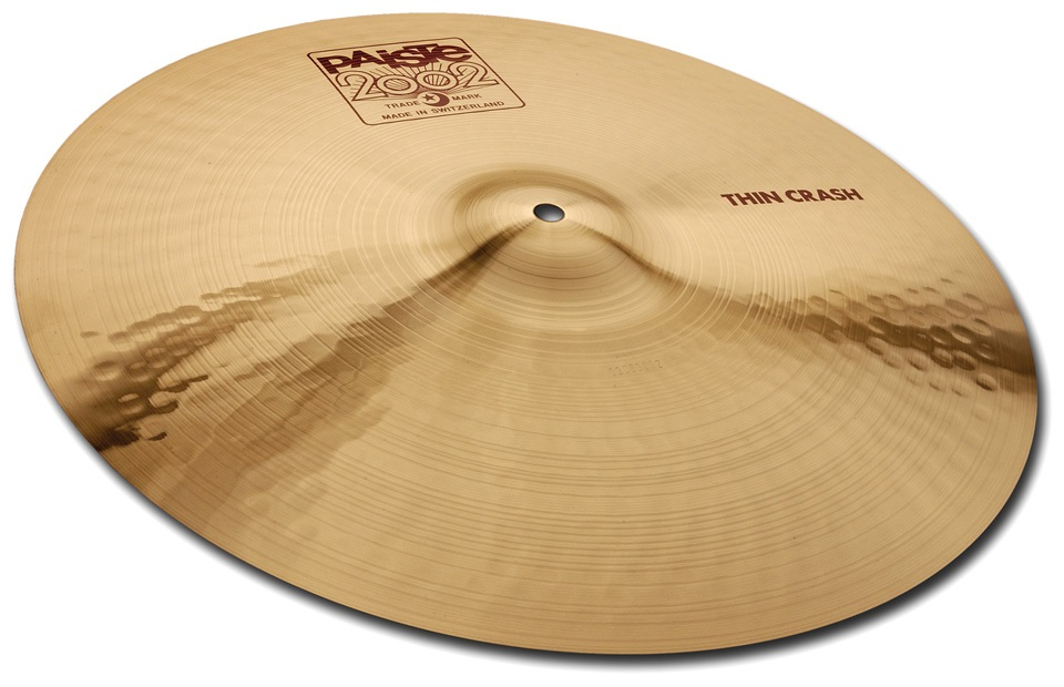 "Fotografie Paiste 18"" 2002 Thin Crash"